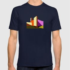 Casa Luis Barragán - Modern architecture abstracts  Mens Fitted Tee Navy SMALL