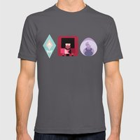 The Crystal Gems Mens Fitted Tee Asphalt SMALL