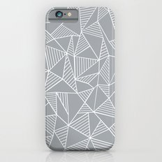 Abstraction Lines Grey Slim Case iPhone 6s