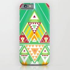 Triangle Indigenous Pattern iPhone 6 Slim Case