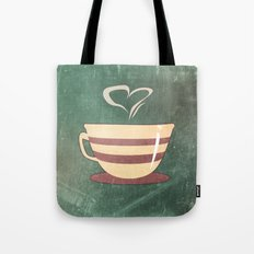 Coffee is love illustration Tote Bag