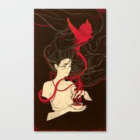 The Warmth of You: Rusted Edition Canvas Print