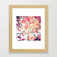 October Oak Framed Art Print