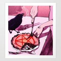 Mrs.Crowley's Old Fashio… Art Print