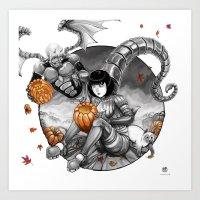 BounD: Halloween Art Print