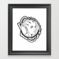 Mass Effect. Liara T'son… Framed Art Print