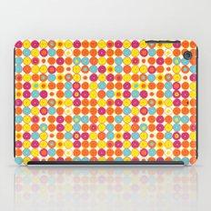 Funny Polkas-Yellow and orange iPad Case