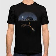 Minecraft: Always Diggin… Mens Fitted Tee Black SMALL