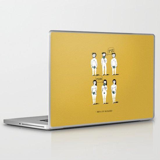 Adam & Eve Uncensored Laptop & iPad Skin