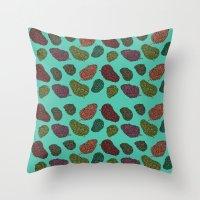 420 Nug Pattern Throw Pillow