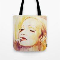 Marlene Dietrich With A … Tote Bag