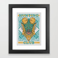 Hunting Club: Jinouga Framed Art Print