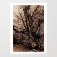Sedona Surrealism Art Print