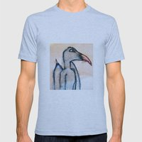 blue bird Mens Fitted Tee Athletic Blue SMALL