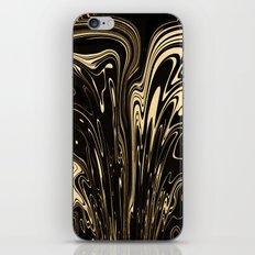Marvellous Gold iPhone & iPod Skin