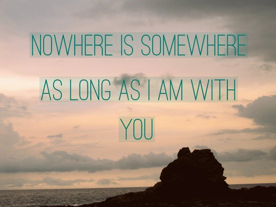 Somewhere With You Art Print