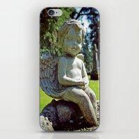 Little stone angel  iPhone & iPod Skin