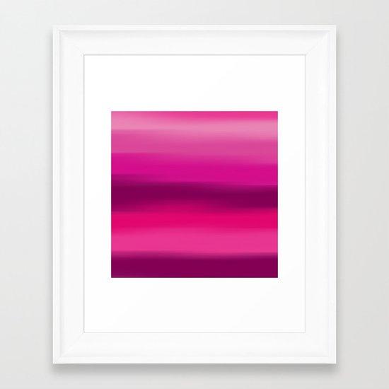 Poetry In Motion. Framed Art Print