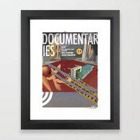 Vans And Color Magazine … Framed Art Print