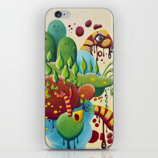 Dripping Drops iPhone & iPod Skin