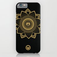 iPhone & iPod Case featuring Peace Lotus by Jon Hernandez