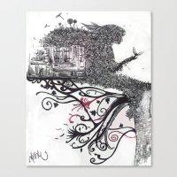 Imaginatĭo Canvas Print