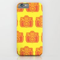 I Still Shoot Film Holga Logo - Yellow & Red iPhone 6 Slim Case