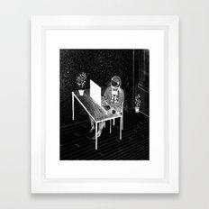 Virtual Space Travel Framed Art Print