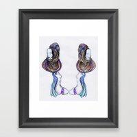 Humans-prog Framed Art Print