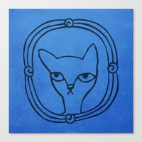 Tyger's Penetrating Star… Canvas Print