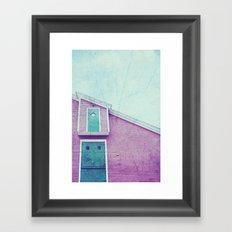 Old Fish Factory Framed Art Print