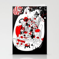 Alice's Adventures In Wo… Stationery Cards