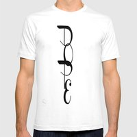 DOPE Mens Fitted Tee White SMALL