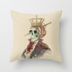 I LOVE THE KING Throw Pillow