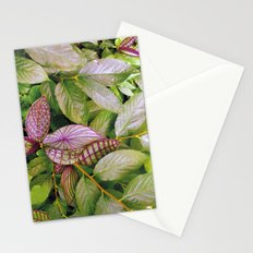 leaves evolved 2 Stationery Cards