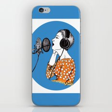 SINGING  iPhone & iPod Skin