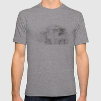 Talmadge Thunder Mens Fitted Tee Athletic Grey SMALL