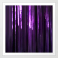 Purple Art Print