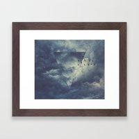 Sky Forms Framed Art Print