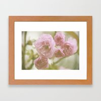 So Pretty In Pink  Framed Art Print
