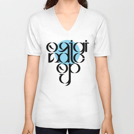 Original Copy V-neck T-shirt