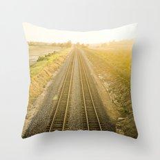 Central California  Throw Pillow