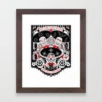 Amigos Forever Framed Art Print