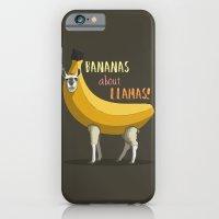 Bananas About Llamas! iPhone 6 Slim Case