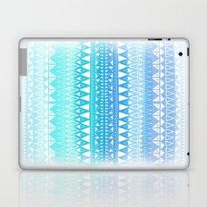 Triangle Gradient Aqua Mix Laptop & iPad Skin