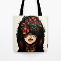 The Girl Who Was Thinkin… Tote Bag