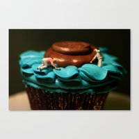 The Cake Decorators Canvas Print