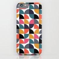 Quarter pattern iPhone 6 Slim Case