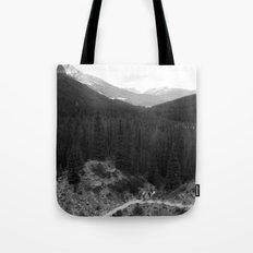 Lets Get Lost, The Valley of Ten Peaks Tote Bag