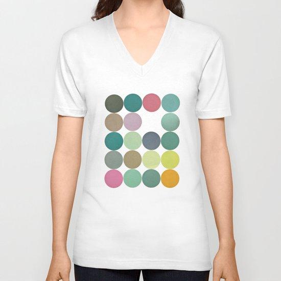 Circles I V-neck T-shirt